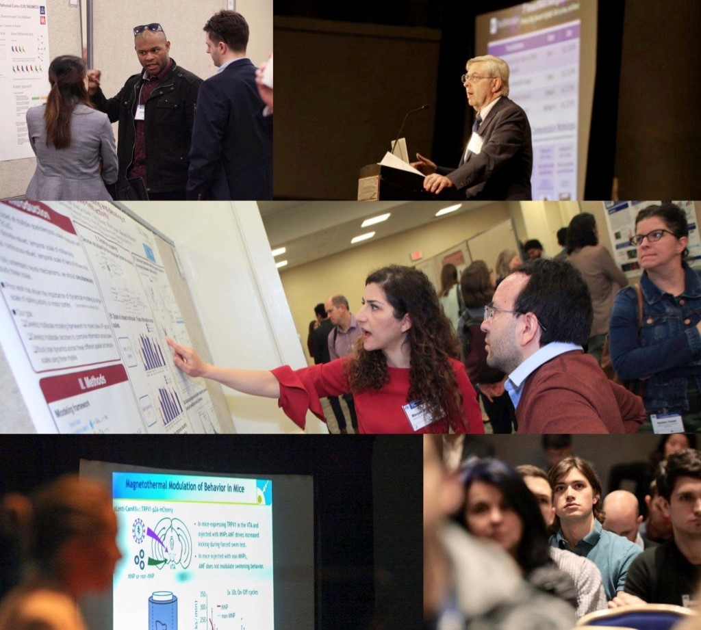 Collage of moments from past BRAIN Investigators Meetings