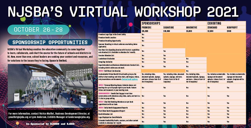 sponsorship opportunites brochure screenshot