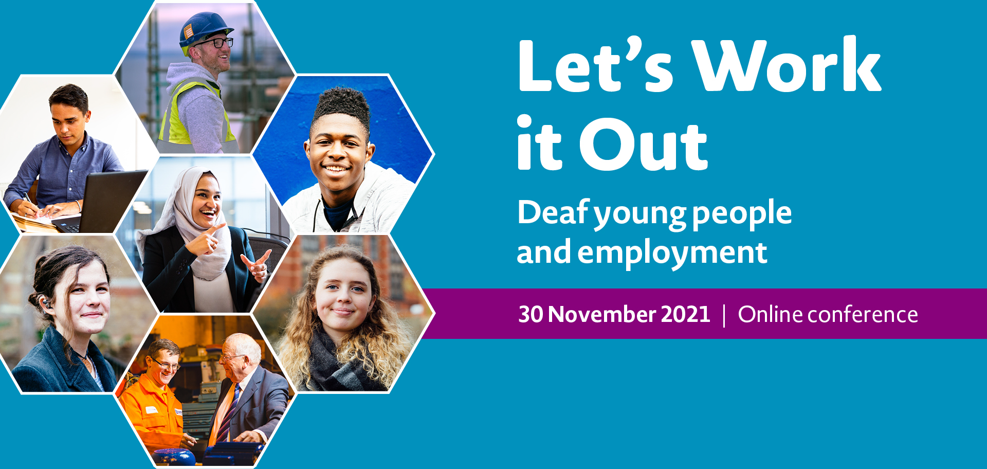 Let's Work it Out 30 November 2021   Online conference