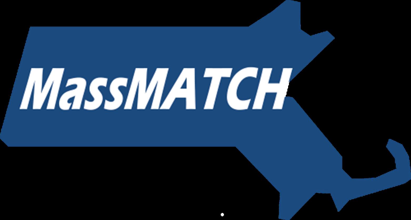 Massachusetts MassMATCH logo