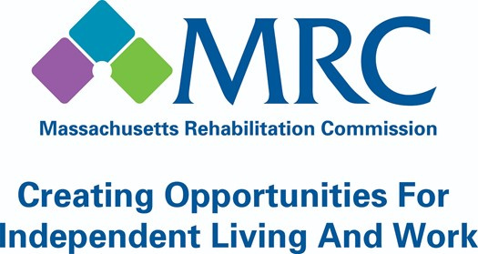 Massachusetts Rehabilitation Commission logo Creating Opportunities for independent Living and Work